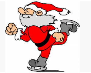 Image result for santa skating